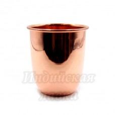 Медный стакан d-9см h-10см 400ml 140гр