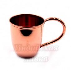 Медный стакан  d-8см h-9см 400ml 95гр