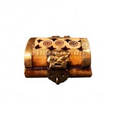 Шкатулка миниатюрная, кость 3.50 х 5см
