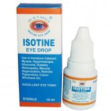 """Аюрведический тоник для глаз """"Айсотин"""" 10 мл (Isotine Jagat Pharma)"""