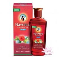 """Масло для волос и массажа головы""""Навратна"""", 100 мл (Navratna oil)"""