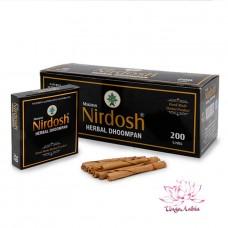 Нирдош, аюведические сигареты. Nirdosh Maans 20 шт без фильтра