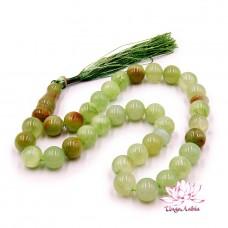 Четки Зеленый Оникс Натуральный камень 33 бусины 12мм