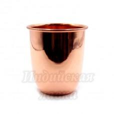 Медный стакан d-9см h-10см 350ml 140гр