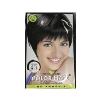 Краска для волос Color Mate Hair Color. Тон 9.1, цвет натуральный чёрный. 15гр.