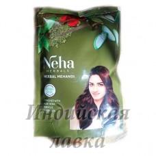 Хна для волос натуральная с травами Neha 140гр