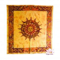 Полотно-покрывало Солнце и Зодиак