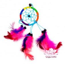 Ловец снов, оберег от сглаза и привлечения любви d-6см h-25см