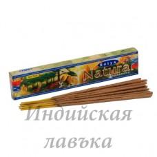 Благовония пыльцовые Natural Satya, с нежным ароматом 15 гр.
