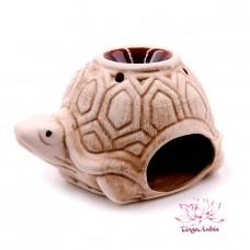 Аромалампа Черепаха керамика 9см-15см шликерная