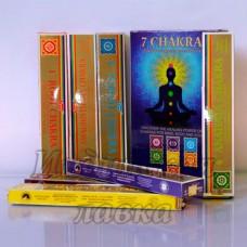 Благовония 7 Chakras Ppure уп-7 пачек набор