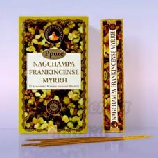 Благовония Ладан Мирр Frankincense Myrrh Ppure 15гр