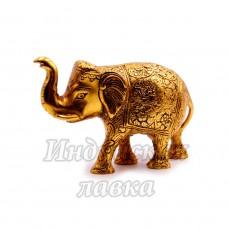 Статуэтка Слон в попоне, силумин, 10cm*15cm 321 гр