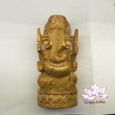 Ганеш - статуэтка (кадам) размер d-6,5 см h-15см