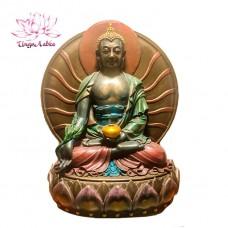 Статуэтка Будда медицины, 15 х 11,5 см.