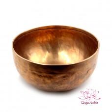 Чаша поющая ручная ковка 9 металлов 1450гр d-22,5см h-10см