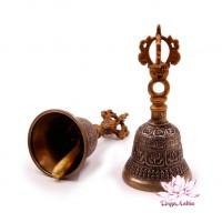 Колокольчик тибетский поющий h-11см d-5.5cм 5 металлов