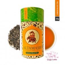 Чай чёрный байховый с лимоном, Altamash, Индия, 100г Сорт: высший