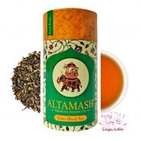 Купаж: чёрный байховый чай и Тулси, Altamash, Индия, 100г Сорт: высший