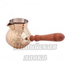 """Турка """"Луковица"""" (полиш), объем 930мл"""