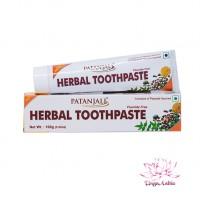 Зубная паста аюрведическая Травяная Herbal Patanjali 100гр
