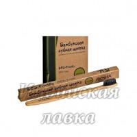 Зубная щетка Bamboobrush из бамбука с угольным напылением (Мягкая)